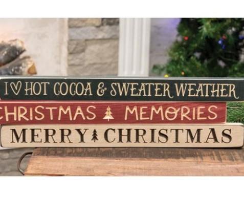 Christmas Shelf Sitters