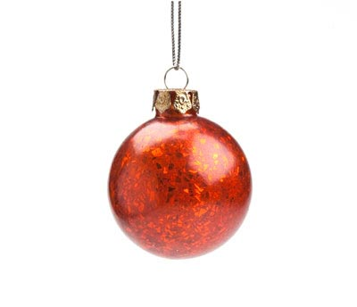Red Broken Glass Ornament, by Ragon House
