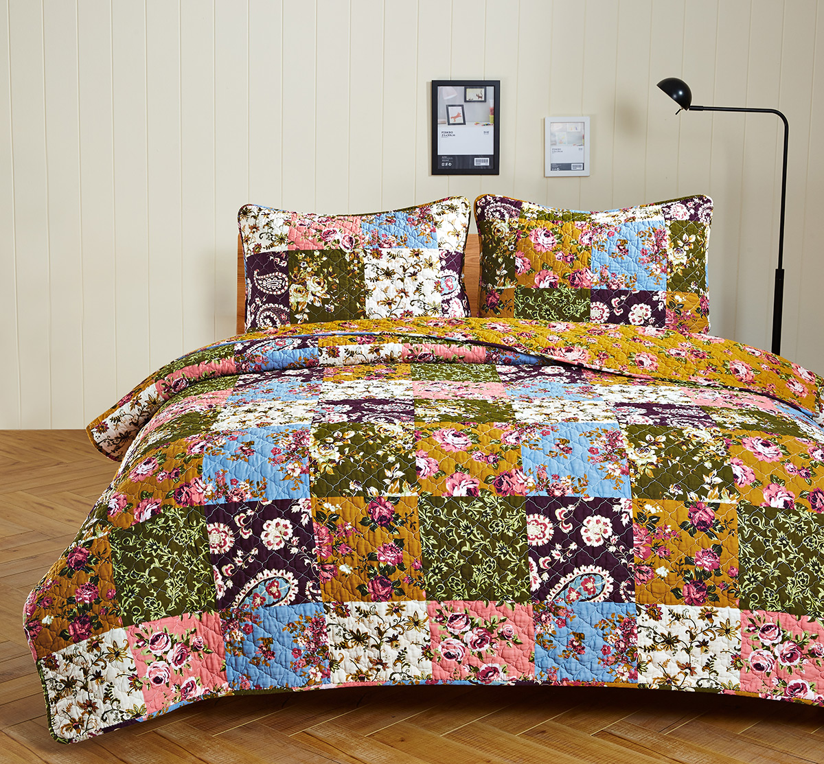 Antique Bloom Quilt Set, by Olivia's Heartland