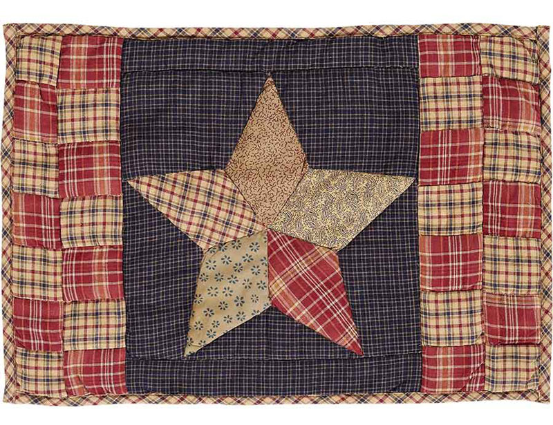 Arlington Quilted Placemats, byVHC Brands