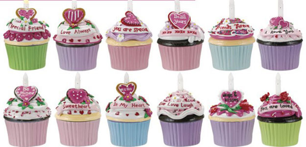 Wish Blow-out Cupcake Trinket Box