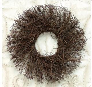 8 inch Angel Vine Twig Wreath