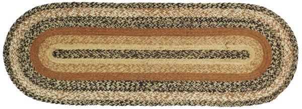 Kettle Grove Jute 48 inch Tablerunner, by Victorian Heart