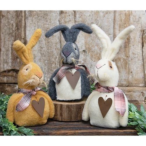 Fabric Rabbit Dolls