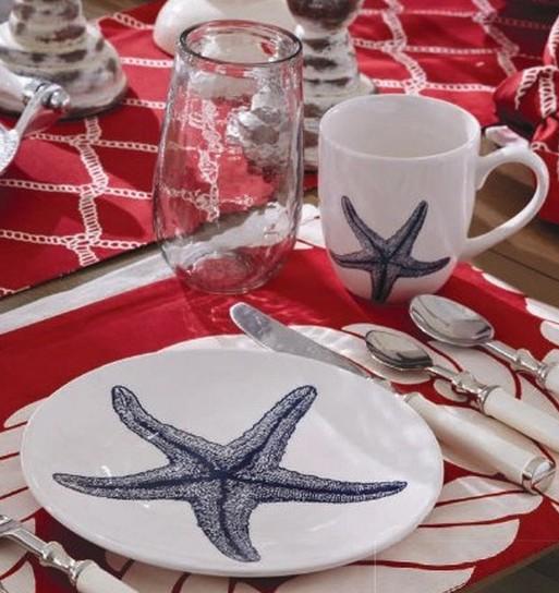 Starfish Plate, by Split P