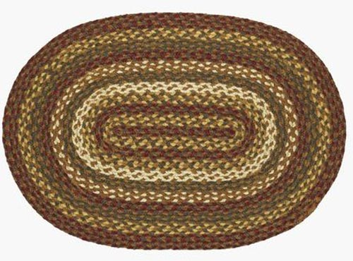 Tea Cabin Jute 24 x 36 inch Rug, by Lasting Impressions.