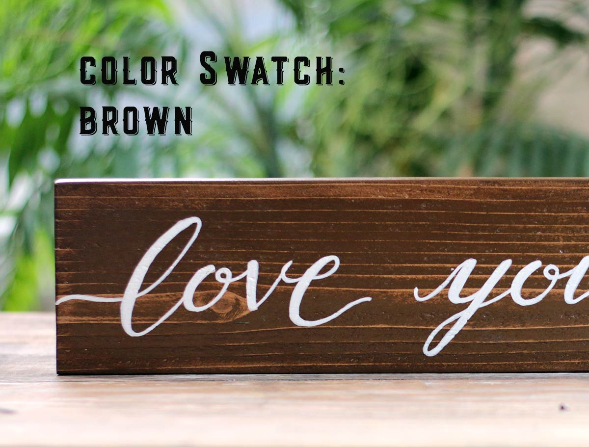 Color Option - Brown
