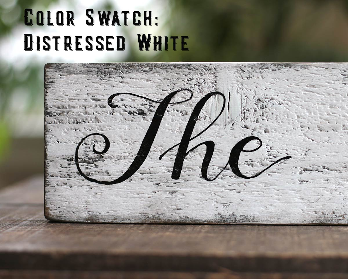 Color Swatch - White