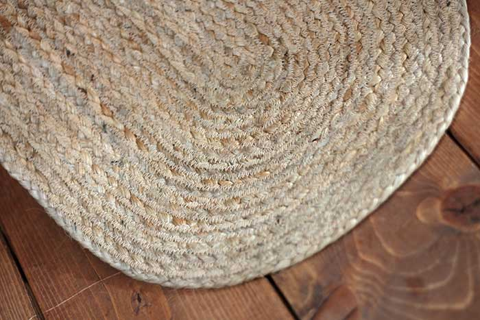 Natural Braided Jute, by VHC Brands