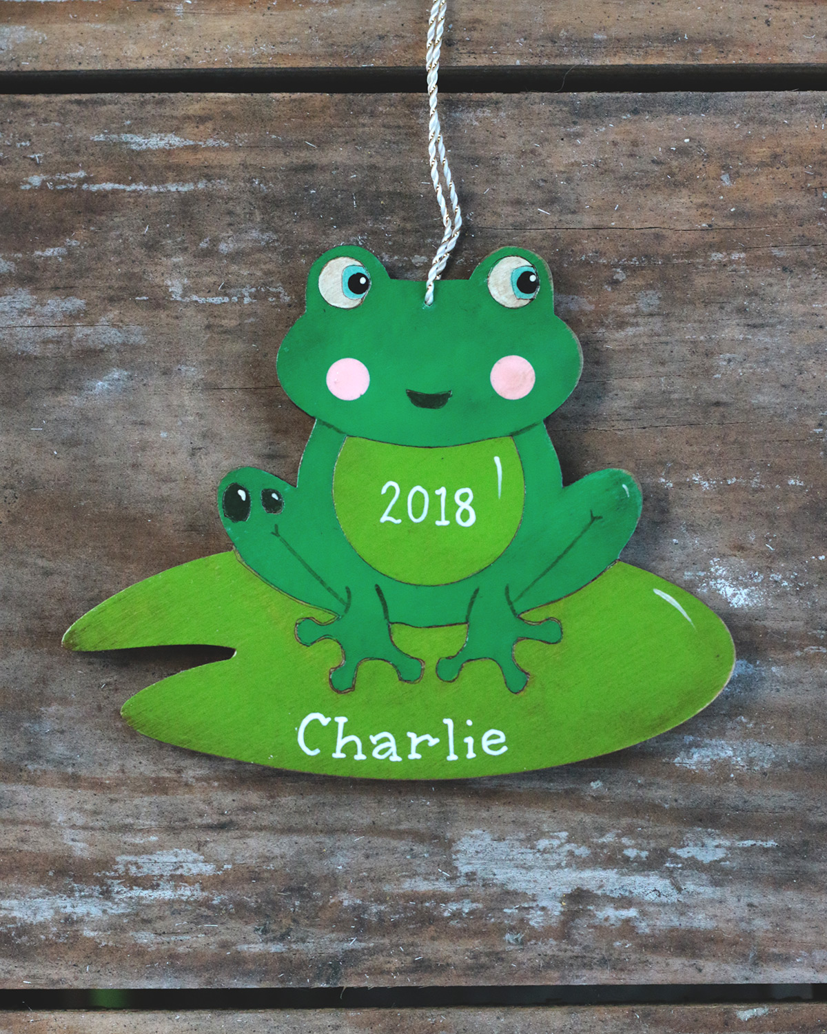 Personalized Christmas Wire Dog Bone Ornament ANY NAME Customized Handmade in US