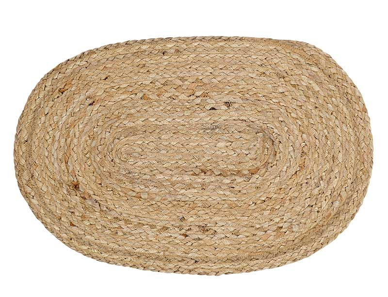 Natural Braided Placemats, by VHC Brands