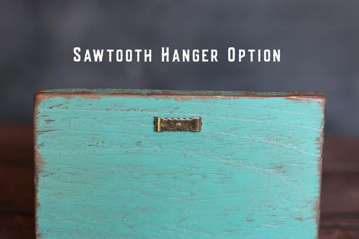 Sawtooth Hanger Example