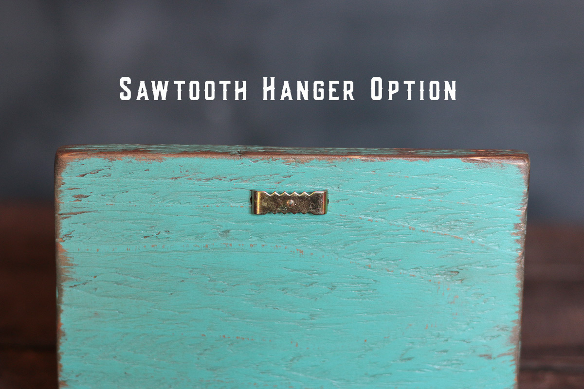 Sawtooth hanger