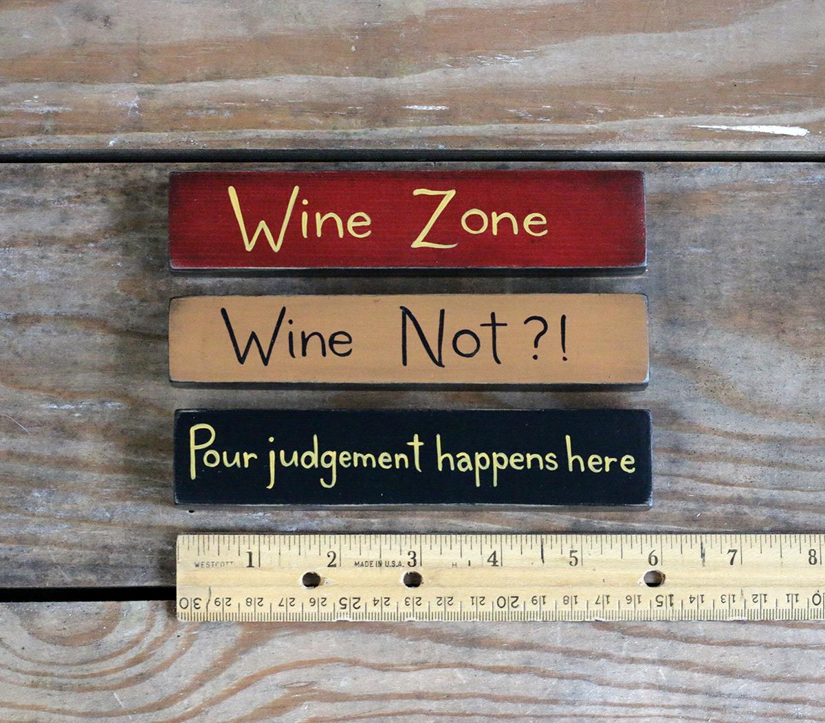 Shelf Sitter Signs