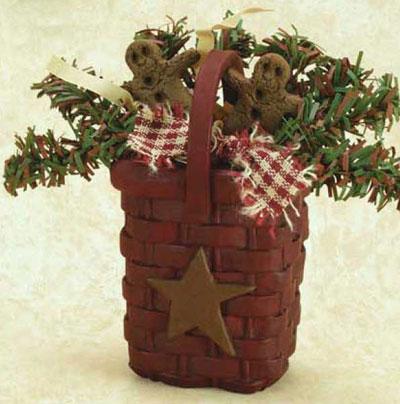 Mini Basket of Gingerbread