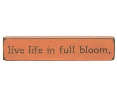 In Full Bloom Shelf Sitter