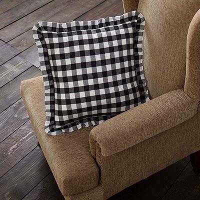 Annie Buffalo Black Check Throw Throw Pillow (18 inch)