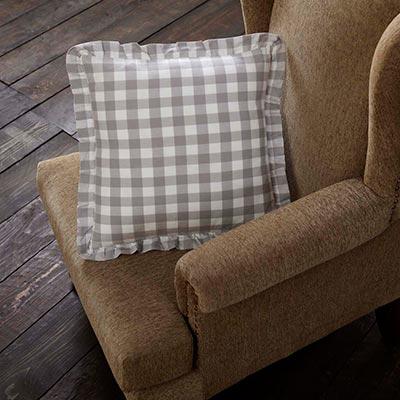 Annie Buffalo Grey Check Throw Throw Pillow (18 inch)