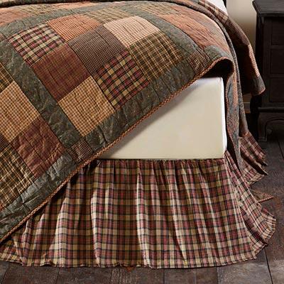 Crosswoods King Bed Skirt