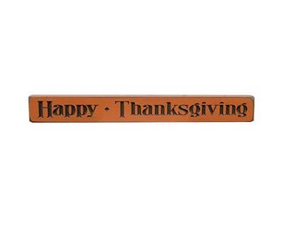 Happy Thanksgiving Shelf Sitter