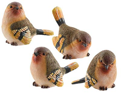Finch Bird Figurine - Small
