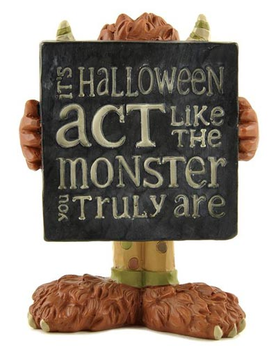 Like the Monster Plaque with Monster
