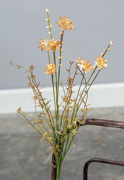Sepia Wildflower Floral Spray