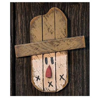 Lath Scarecrow Head Hanger
