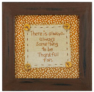 Be Thankful Stitchery