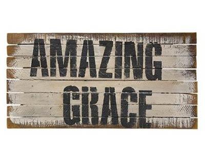 Amazing Grace Lathe Sign