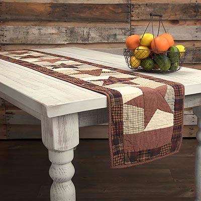 Abilene Star Table Runner - 72 inch