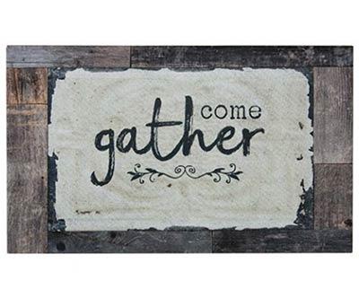 Come Gather Floor Mat