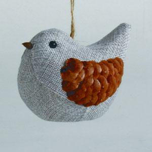 Chalet Bird Ornament