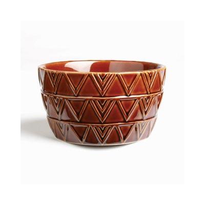 Sierra Stoneware Bowl - Burnt Sienna