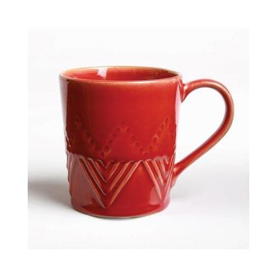 Sierra Stoneware Mug - Cayenne