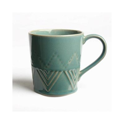 Sierra Stoneware Mug - Azure Blue