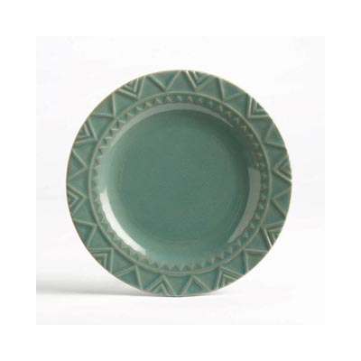 Sierra Stoneware Plate - Azure Blue