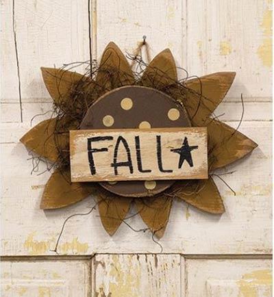 Fall Sunflower Wall Decor