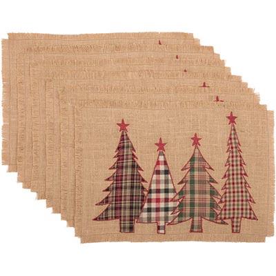 Clement Applique Tree Placemats (Set of 6)