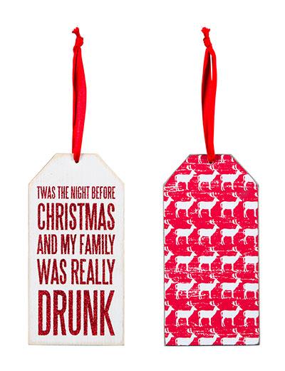 Really Drunk Bottle Tag