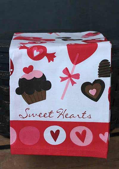 Valentine Printed Kitchen Towel