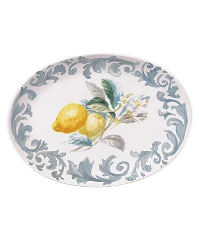 Citron Lemon Oval Platter