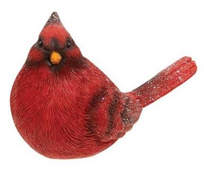 Sparkling Cardinal Figurine