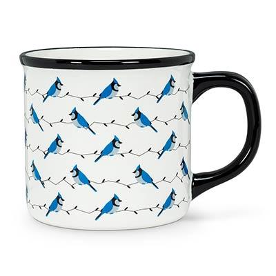 Blue Jay Mugs (Set of 4)