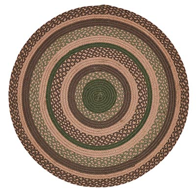 Barrington Braided Round 3 Foot Rug By Nancy S Nook The Weed Patch