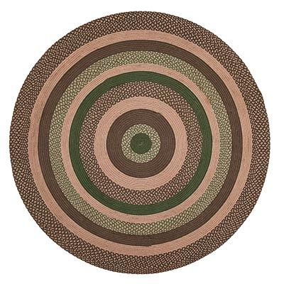 Barrington 6 Foot Round Braided Rug By Nancy S Nook The Weed Patch