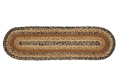 Kettle Grove Braided Stair Tread (with Latex Backing)