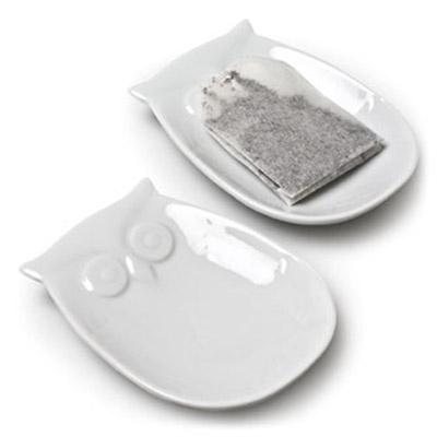 Owl Teabag Plate