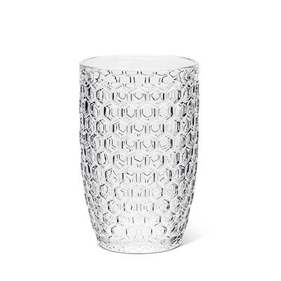 Honeycomb Glass Highballs (Set of 4)