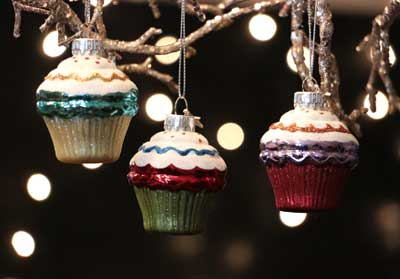 Mini Cupcake Ornament